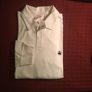 Brooks Brothers long sleeve jersey polo
